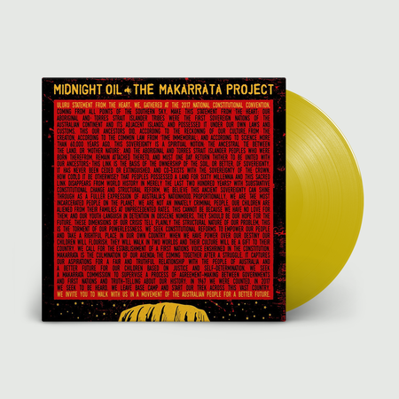 Midnight Oil: The Makarrata Project: Limited Edition Yellow Vinyl