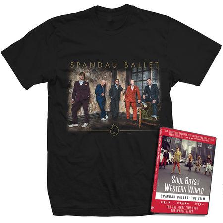 Spandau Ballet: Modern Band Unisex T-Shirt & DVD