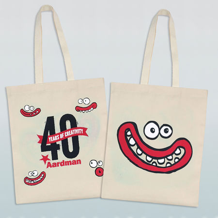 Aardman: Aardman 40th Celebration Tote Bag