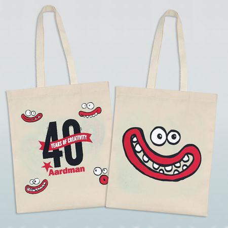 Aardman: Aardman 40th Celebration Tote Bag
