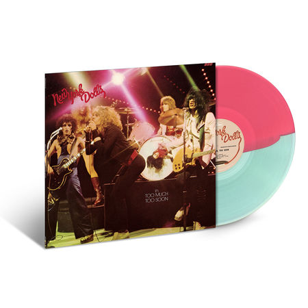 New York Dolls: Too Much Too Soon (Clear / Pink Swirl Vinyl)