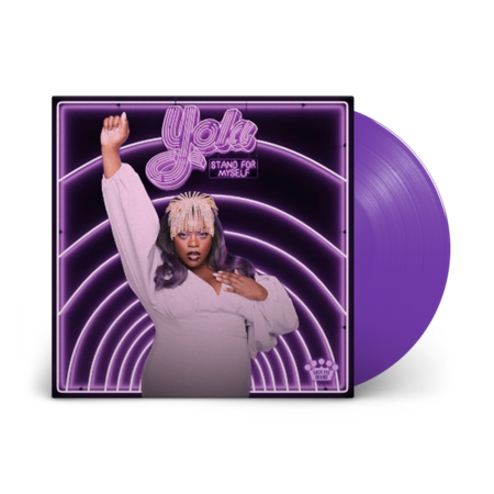 Yola: Stand For Myself: Limited Edition Purple Vinyl LP + Signed Print