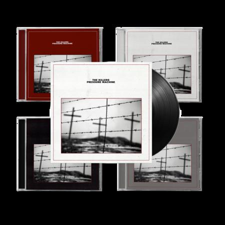 The Killers: Pressure Machine: All Format CD & Vinyl Bundle + Signed Art Card