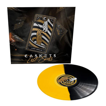 Caskets: Lost Souls: Limited Edition Yellow and Black Vinyl