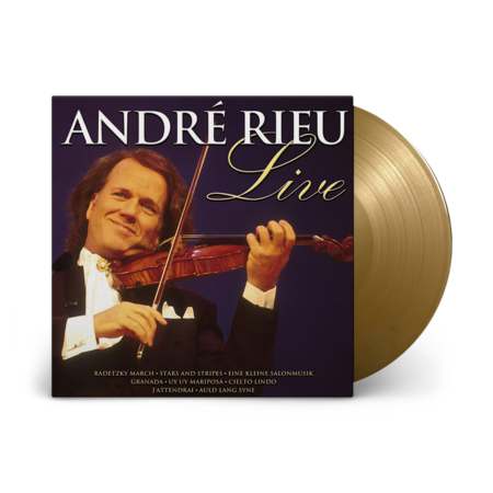 André Rieu: Live: Limited Edition Gold Vinyl