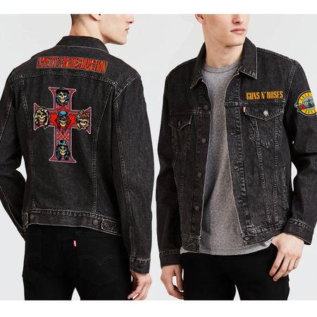Guns N' Roses: Appetite For Destruction Denim Jacket Small
