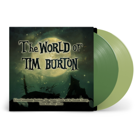 Danny Elfman, Howard Shore, Stephen Sondheim: The World of Tim Burton: Recordstore Exclusive Green + Clear Vinyl LP