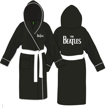The Beatles: Unisex Bathrobe Drop T Logo