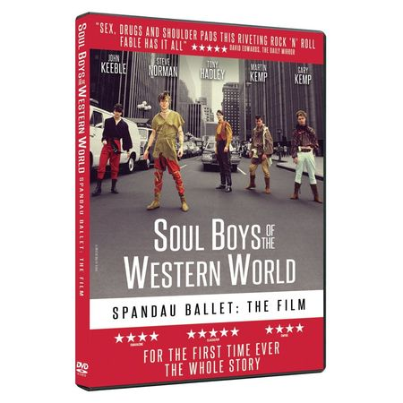 Spandau Ballet: SPANDAU BALLET THE FILM: SOUL BOYS OF THE WESTERN WORLD (DVD)