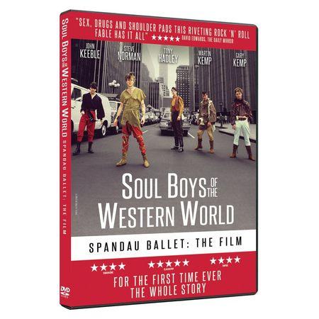 Spandau Ballet: SPANDAU BALLET THE FILM: SOUL BOYS OF THE WESTERN WORLD (DVD)