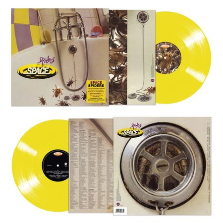 Space : Spiders: 25th Anniversary Edition 180g Yellow Vinyl