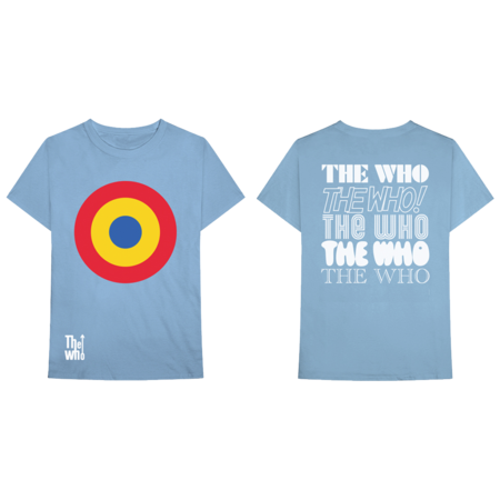 The Who: MOD TARGET TEE