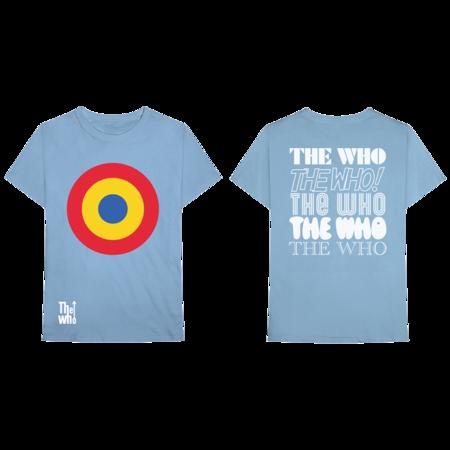 The Who: MOD TARGET TEE