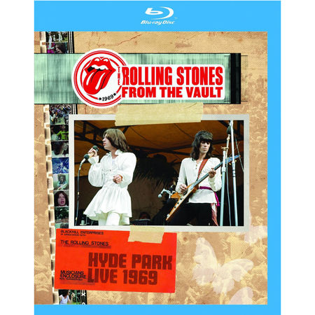 The Rolling Stones: From The Vault: Hyde Park 1969 (Blu-Ray)