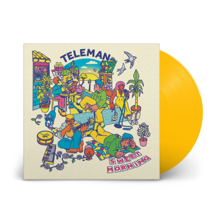 Teleman: Sweet Morning EP: Signed Recordstore Exclusive Yellow Vinyl