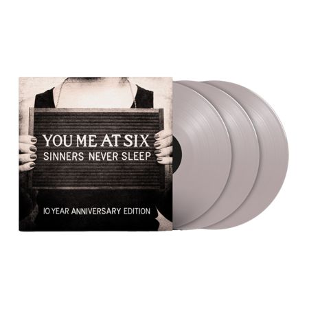 You Me At Six: You Me At Six - Sinners Never Sleep (10th Anniversary) (3LP Silver)