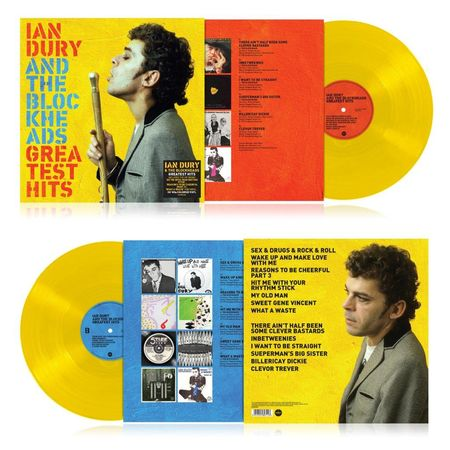 Ian Dury & The Blockheads: Greatest Hits: Limited Edition Yellow Vinyl