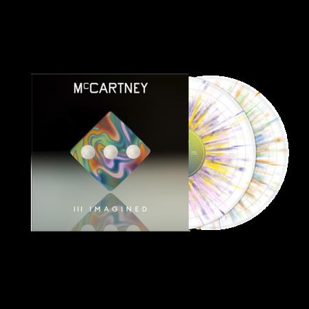 Paul McCartney: McCartney III Imagined Limited Edition Exclusive Splatter 2LP