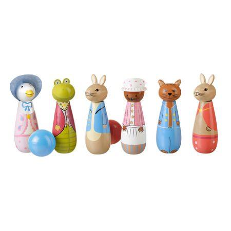 Peter Rabbit: Peter Rabbit Wooden Skittles