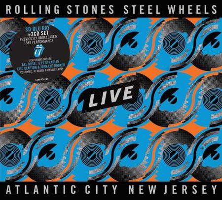 The Rolling Stones: Steel Wheels - Atlantic City, NJ (Blu-Ray / 2CD)