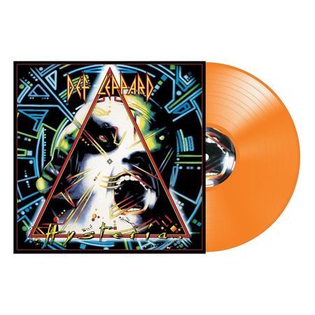 Def Leppard: Hysteria: Exclusive Orange Vinyl