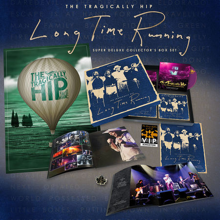 The Tragically Hip: Long Time Running (Deluxe 2 DVD/2 BluRay)