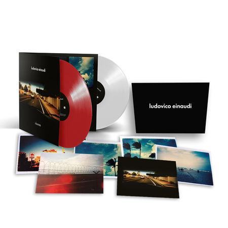 Ludovico Einaudi: Cinema Exclusive Coloured LP & Photocards bundle