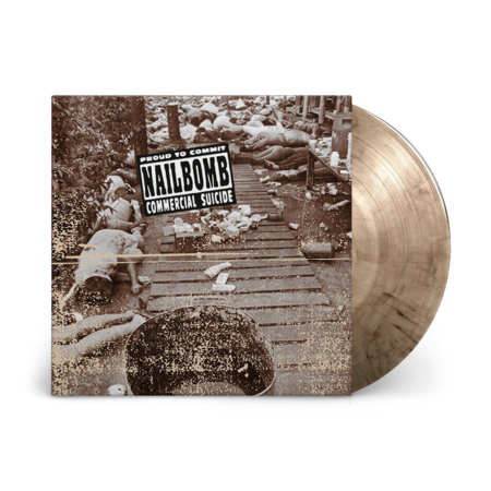 nailbomb: Proud To Commit Commercial Suicide: Limited Edition Smoke Coloured Vinyl