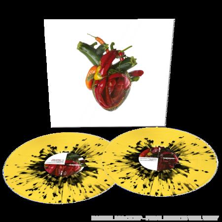 Carcass: Torn Arteries: UK Exclusive Gatefold Yellow + Black Splatter Vinyl 2LP