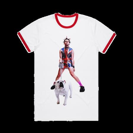 Yungblud: Strawberry Lipstick Ringer T-shirt