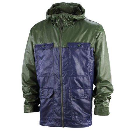 Professor Green: Light Jacket Peacoat - Deep Forest