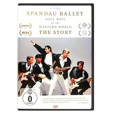 Spandau Ballet: SPANDAU BALLET THE FILM: SOUL BOYS OF THE WESTERN WORLD (GERMAN EDITION DVD)