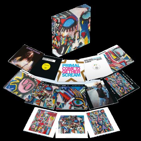 """Primal Scream: Screamadelica: 30th Anniversary 12"""" Singles Box"""