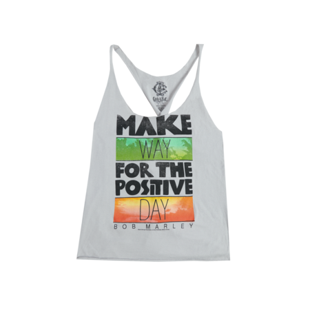 Bob Marley: Catch a Fire Make Way Twist Ladies Tank Top