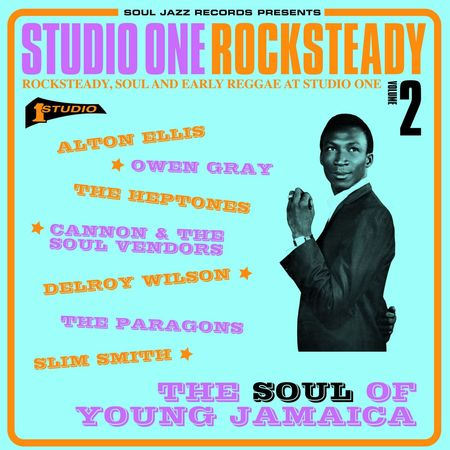 Various Artists: STUDIO ONE Rocksteady 2: The Soul Of Young Jamaica - Rocksteady, Soul And Early Reggae At Studio One