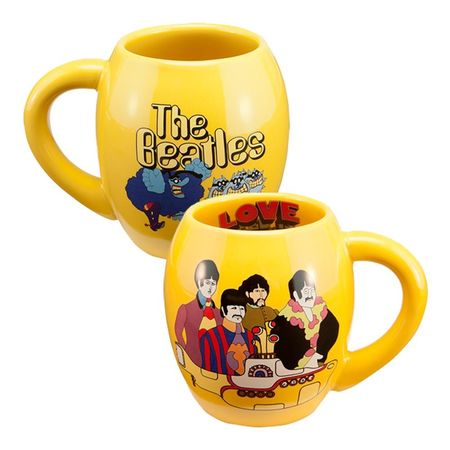 The Beatles: Yellow Submarine 18 oz. Oval Ceramic Mug