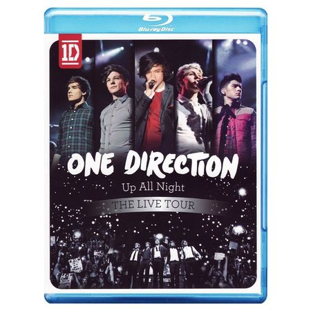 One Direction: Up All Night - The Live Tour Blu-ray