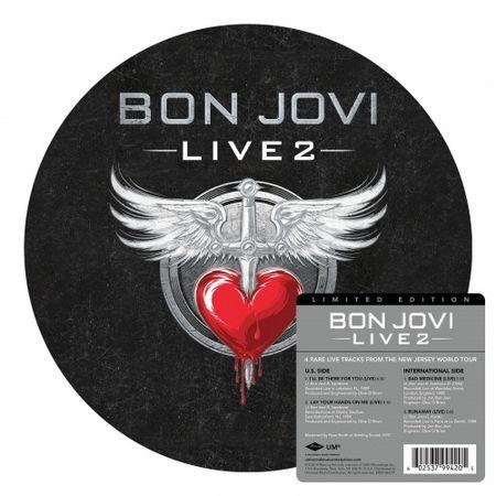 Bon Jovi: Live 2: Picture Disc