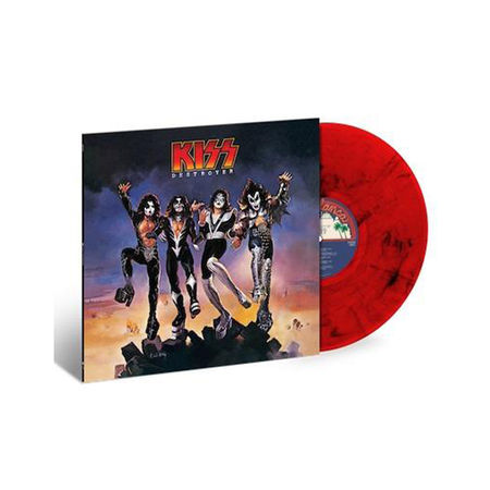 Kiss: Destroyer: Exclusive Red and Black Marbled Vinyl