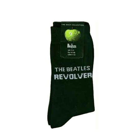 The Beatles: Revolver Men's Black Socks