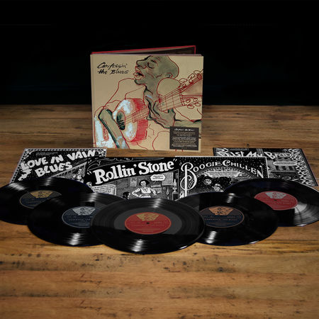 The Rolling Stones: Confessin' The Blues 10in Book Pack