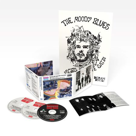 The Moody Blues: Days Of Future Passed Deluxe Edition (2CD/DVD)