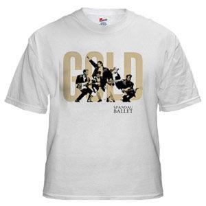 Spandau Ballet: Spandau Ballet 'Instrumental' White Unisex T-Shirt