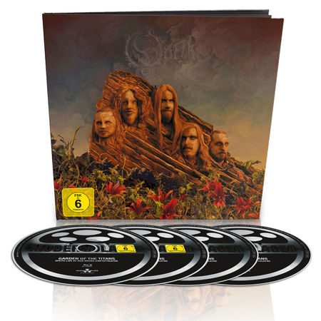 Opeth: Garden Of The Titans (Live At Red Rocks Ampitheatre): Limited Blu-Ray/DVD/2CD Earbook