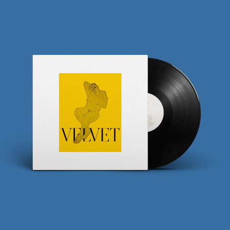 Velvet Negroni: NEON BROWN: Vinyl LP with Exclusive Signed Poster