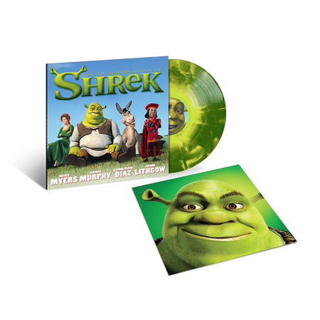 Various Artists: Shrek – Music From The Original Motion Picture: Exclusive Swamp Green Vinyl