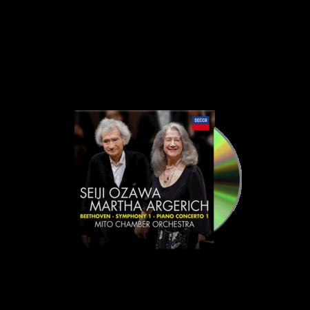 SEIJI OZAWA: Beethoven: Piano Concerto No. 1, Symphony No.1