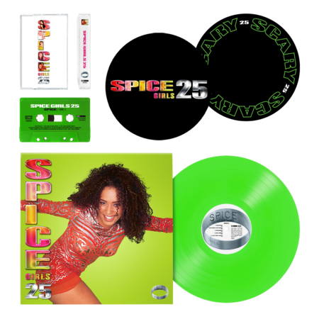 Spice Girls: Scary Spice: Vinyl, Cassette and Slipmat