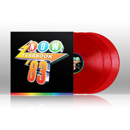 Various Artists: NOW – Yearbook 1983: Limited Edition Red Vinyl 3LP