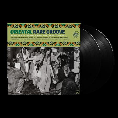 Various: Oriental Rare Groove: Black Vinyl 2LP